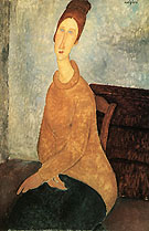 Amedeo Modigliani Yellow Sweater 1919
