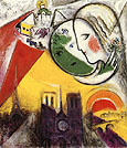 Marc Chagall Sunday 1952 - 54