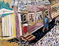 Marc Chagall The Street
