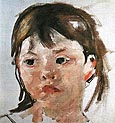 Head of a Little Girl - Mary Cassatt