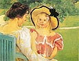In the Garden 1904 - Mary Cassatt