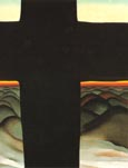 Georgia O'Keeffe Black Cross New Mexico 1929
