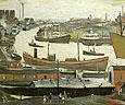 L-S-Lowry River Wear at Sunderland 1961