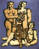 Fernand Leger Three Sisters