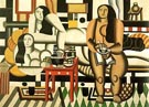 Fernand Leger Three Women Le Grand Dejeuner 1921