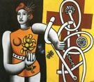 Fernand Leger Big Julie 1945