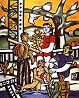 Fernand Leger The Campers 1954