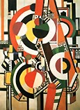 Fernand Leger The Disks 1918
