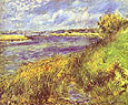 Pierre Auguste Renoir Bords de Seine a Champrosay 1876