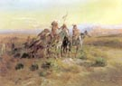 Charles M Russell The Scouts