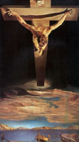 Salvador Dali Christ, St John of the Cross 1951