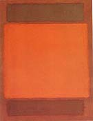 Mark Rothko Orange and Brown