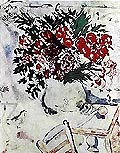 Marc Chagall Still Life with Flowers