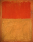 Mark Rothko Orange and Tan 1954