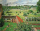 Camille Pissarro View from my Window Eragny