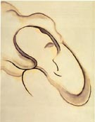 Georgia O'Keeffe ABSTRACTION IX