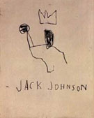 Jean-Michel-Basquiat Jack Johnson 1982