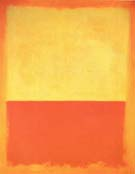 Mark Rothko No 12 1954 Yellow Orange Red on Orange