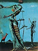 Salvador Dali The Burning Giraffe 1937