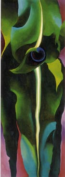 Georgia O'Keeffe Corn Dark I 1924