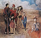 Pablo Picasso Family of Saltimbanques  1905