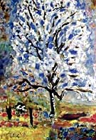 Almond Tree in Bloom - Pierre Bonnard