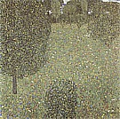 Landscape Garden (Meadow in Flower), 1906 - Gustav Klimt