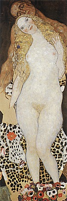 Gustav Klimt Adam + Eve, 1917/18