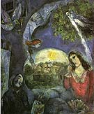 About Her 1945 - Marc Chagall