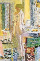 Nude in the Mirror 1931 - Pierre Bonnard