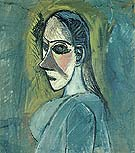 Bust of a Woman 1907 - Pablo Picasso