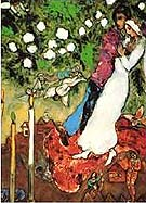 Marc Chagall Three Candles