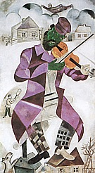 Marc Chagall The Green Violinist, 1923