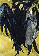 Ernst Kirchner Woman in the Street, 1915