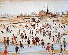 At the Seaside 1946 - L-S-Lowry
