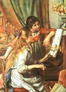 Two Girls at the Piano 1892 - Pierre Auguste Renoir