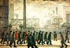 Returning from work 1929 - L-S-Lowry