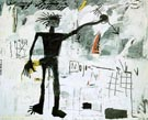Self-Portrait 1982 - Jean-Michel-Basquiat