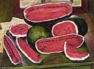 The Watermelons 1957 - Diego Rivera