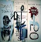 Jean-Michel-Basquiat The Dutch Settlers Part III