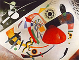 Red Spot II 1921 - Wassily Kandinsky reproduction oil painting