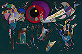 Around the Circle 1940 - Wassily Kandinsky reproduction oil painting