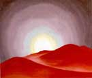 Georgia O'Keeffe Red Hills Lake George 1927