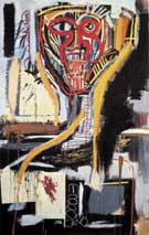 Untitled Prophet I 1982 - Jean-Michel-Basquiat