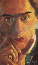 Max Ernst self portrait 1909
