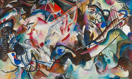 Composition VI 1913 - Wassily Kandinsky reproduction oil painting