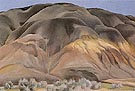 Georgia O'Keeffe Grey Hill Forms