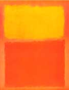 Mark Rothko Orange and Yellow 1956