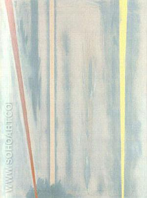 The Beginning 1946 - Barnett Newman reproduction oil painting