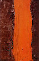 Barnett Newman Detail of End of Silence 1949